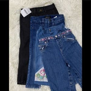 4PC. Lot Toddler Girl Jeans